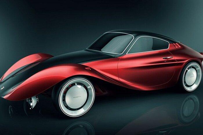 Дизайнер оживляет Moretti 750 Grand Sport