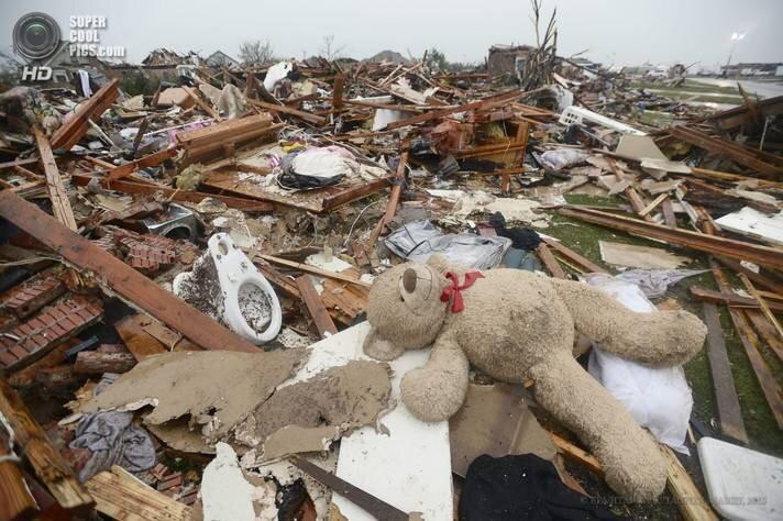 Последствия урагана в Оклахоме (31 фото)