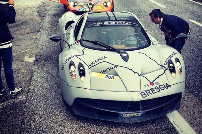 Pagani Huayra - особый участник Mille Miglia-2013 (9 фото)