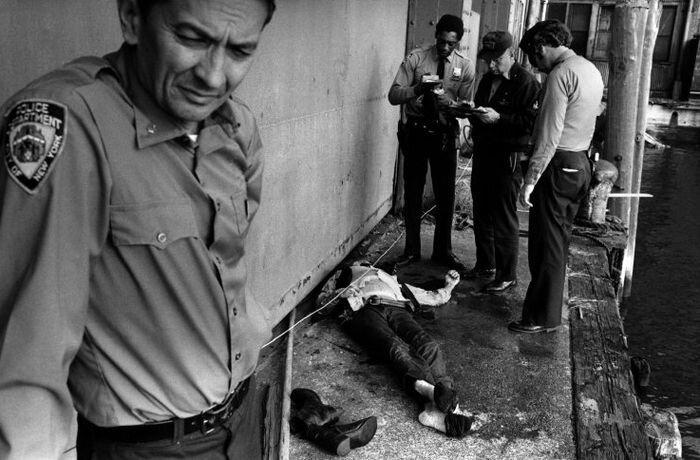Из жизни нью-йоркской полиции 70-х (107 фото)