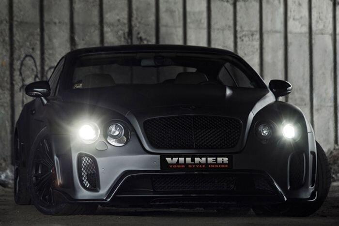 Bentley Continental GT от ателье Vilner (8 фото+видео)