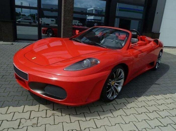 Найдено на Ebay. Реплика Ferrari F430 Spider (8 фото)