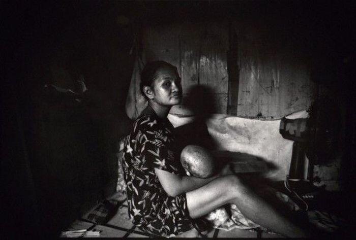 Ужасы в трущобах Манилы (5 фото)