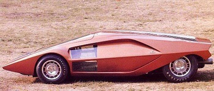 Концептуальных автомобилей 60-70х годов (80 фото)