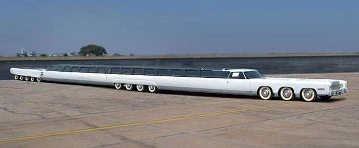 Cамый длинный в мире лимузин (16 фото+3 видео)