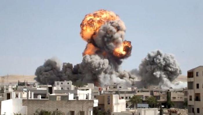 В Сирии продолжается идти гражданская война (37 фото)