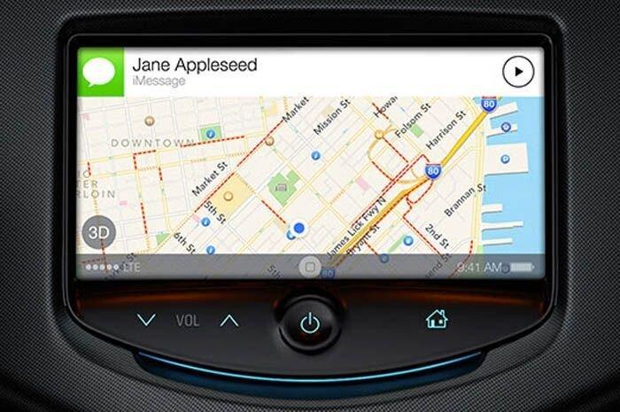 iOS 7 от Apple получила интеграцию с автомобилями (5 фото)
