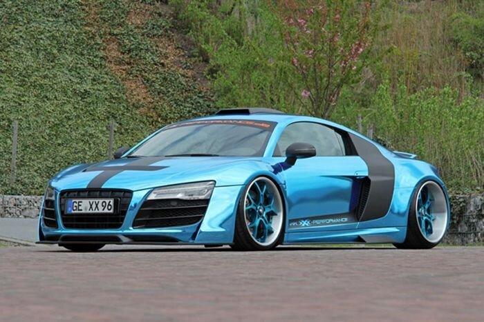 Audi R8 V10 от ателье XXX-Performance (18 фото)