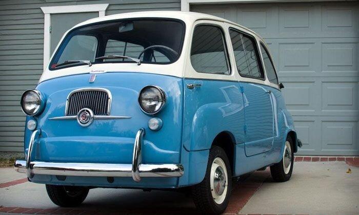 Найдено на Ebay. 1958 Fiat Multipla (20 фото)