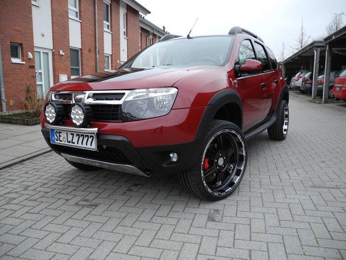 Dacia Duster в тюнинге от LZParts (6 фото)