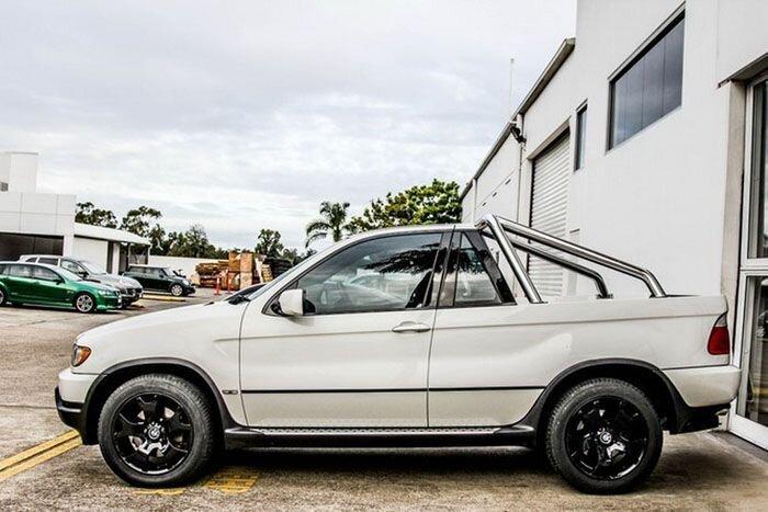 Пикап из BMW X5 (6 фото)