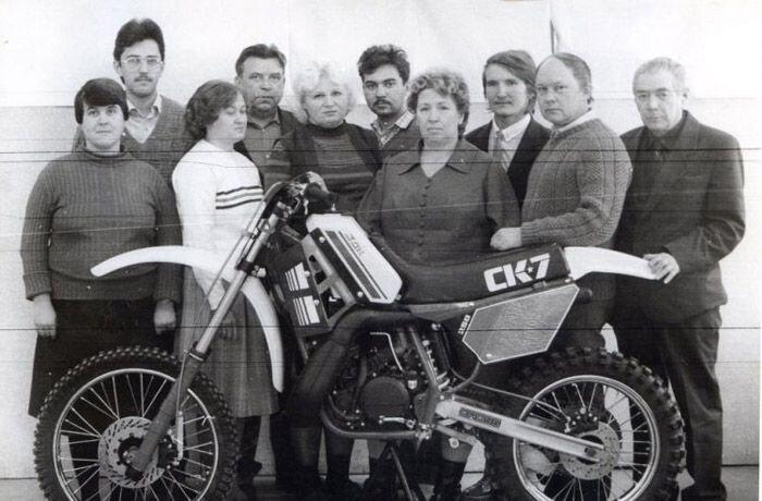 Неизвестная история мотоциклов ВОСХОД (12 фото)