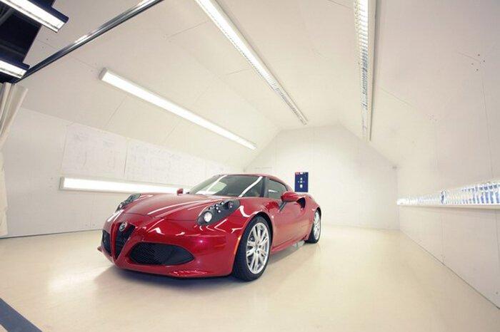 Производственные секреты Alfa Romeo 4C