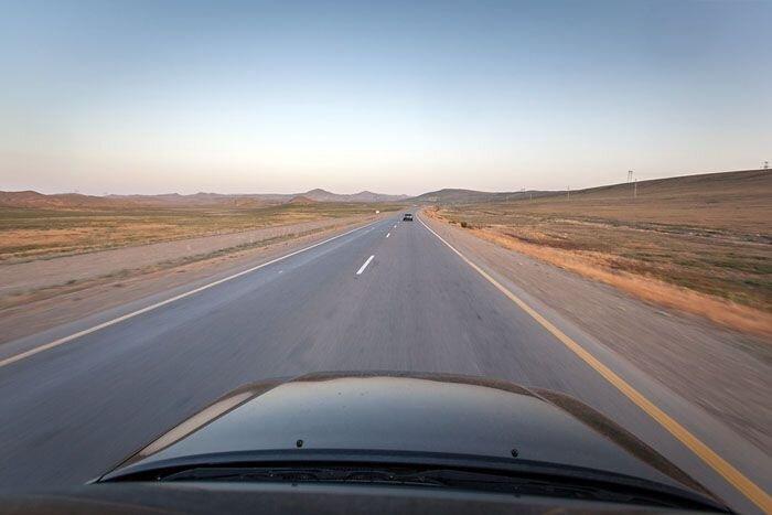 Дороги Азербайджана (45 фото)