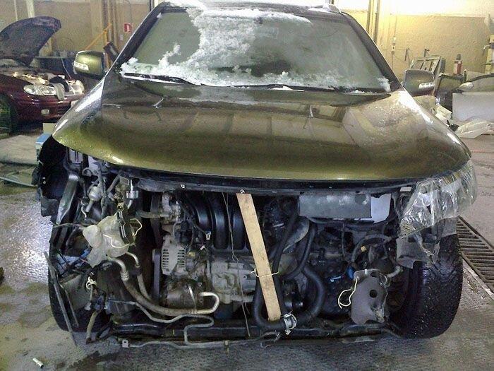 Кузовной ремонт KIA Sorento (33 фото)