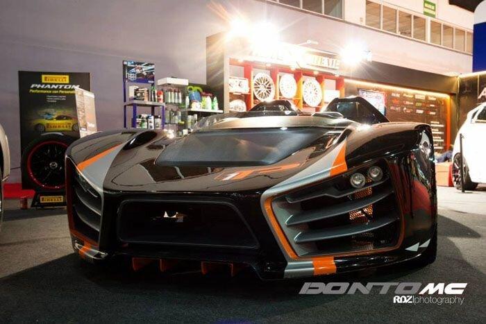 Аргентинцы построили спорткар Donto P1 (18 фото)