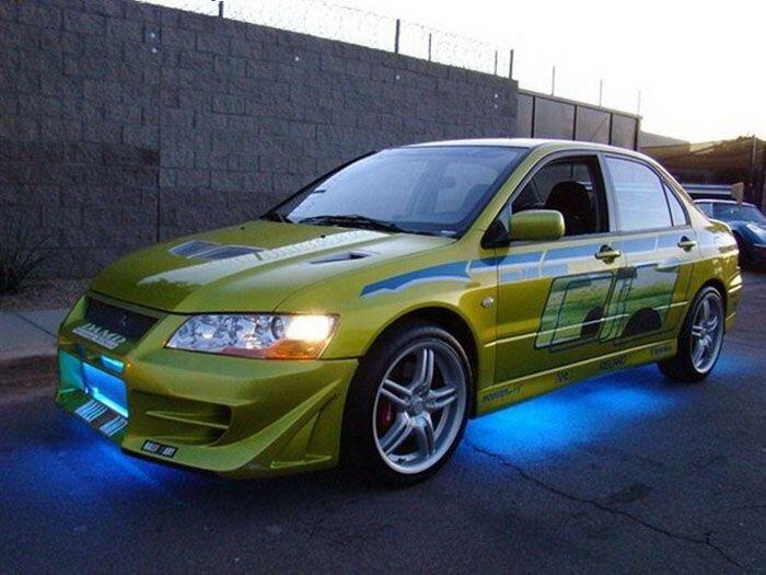 Найдено на eBay. Mitsubishi Evo из фильма 2 Fast 2 Furious  (38 фото+видео)