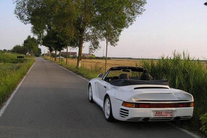 Porsche 959: миллион евро и сорванная крыша