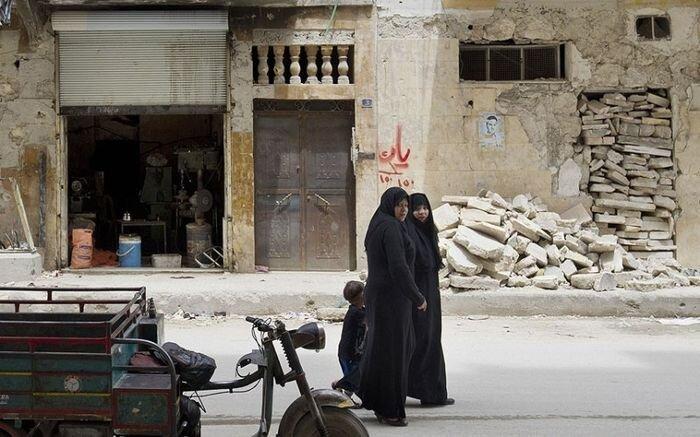 Руины города Алеппо, Сирия (16 фото)