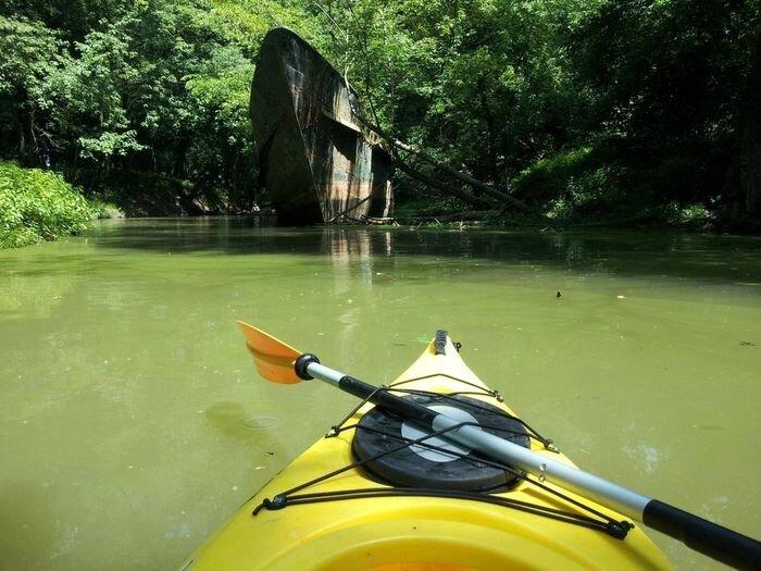 110-летний корабль на реке Огайо (6 фото)