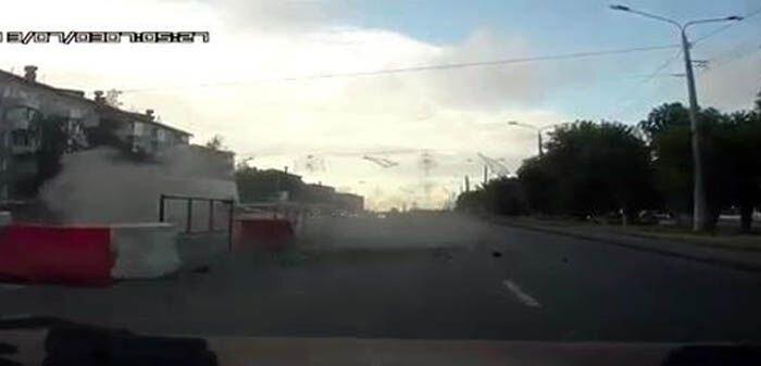 Авария дня часть 1108 (6 фото+видео)