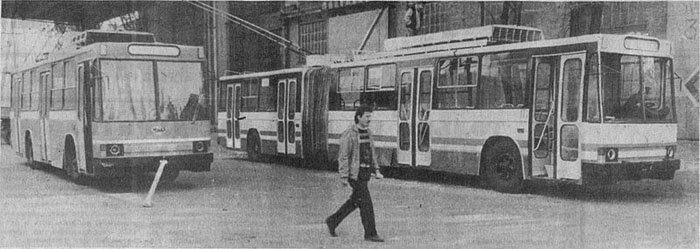 История троллейбусов ЮМЗ (30 фото)