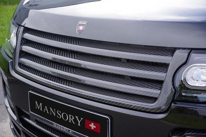 Mansory Range Rover 2013 из Швейцарии (7 фото)