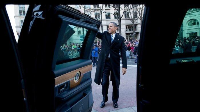 Бронированный автомобиль президента США (11 фото+видео)