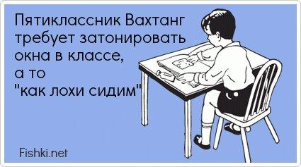 Пятиклассник Вахтанг требует затонировать окна в... от unknown_user за 17 июля 2013