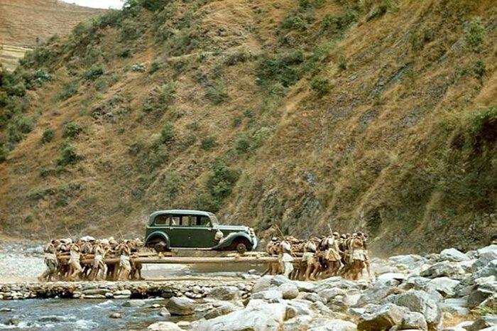 Первая машина Непала - подарок от Гитлера