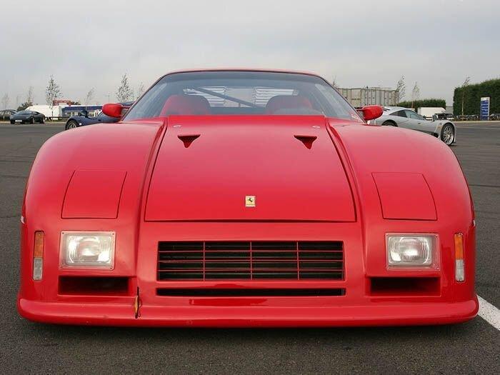 Найдено на eBay. Ferrari 288 GTO Evoluzione (8 фото)