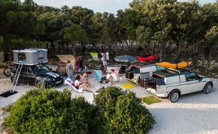 Три концепта для летнего отдыха от MINI (21 фото)