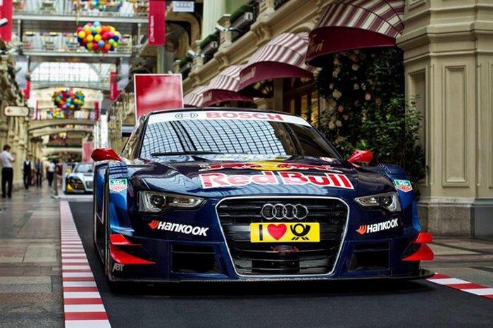 Audi Motorsport в ГУМе