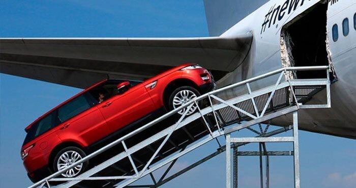 Тест-драйв нового Range Rover Sport (52 фото)