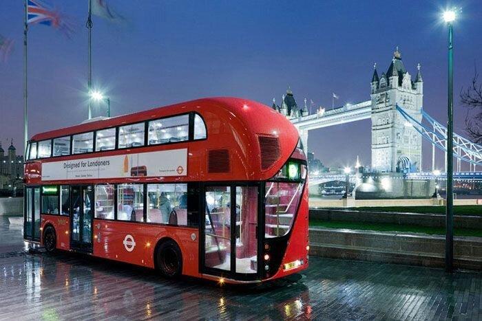 Новый автобус для Лондона  (12 фото+видео)
