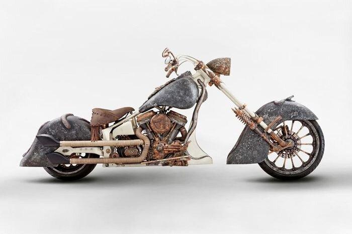 Самый дорогой мотоцикл (12 фото+видео)