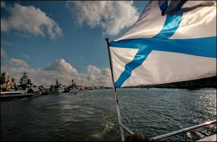 Несчастный случай в день ВМФ России (видео)