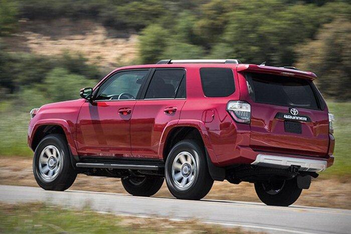Toyota поддерживает выпуск рамных внедорожников