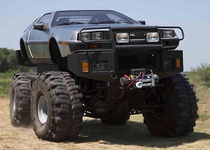 Коллекция самых необычных DeLorean (10 фото)