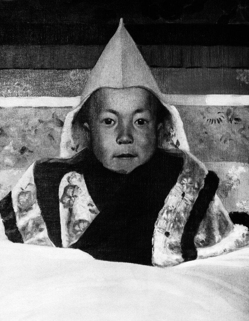 Редкие снимки Далай-ламы