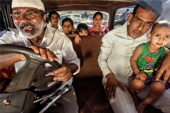 Бомбейские таксисты (27 фото)