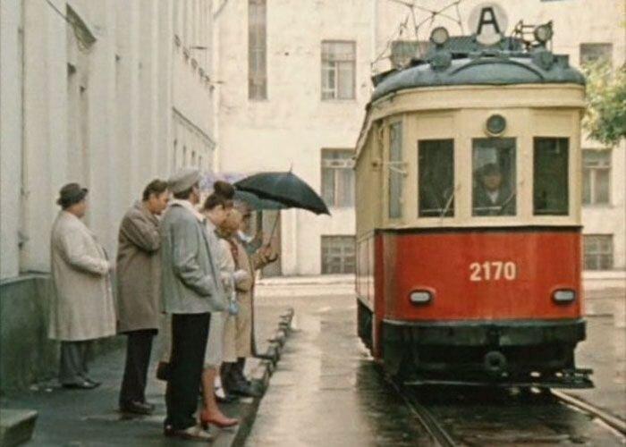 Исторические трамваи в кино (18 фото)
