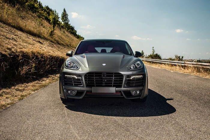 Porsche Cayenne Turbo S Magnum от TechArt (9 фото)