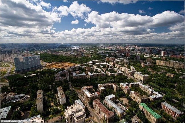 Москва глазами птиц. (52 фото + 8 бонус панорам)