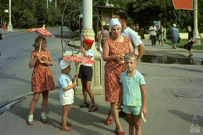 Советская Москва 1966-1971 (93 фото + видео юмор)