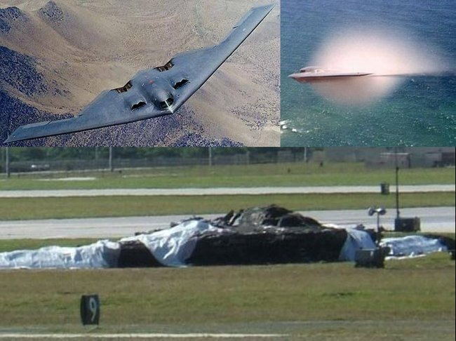 B-2 Стелс - как бочка с порохом (10 фото + 3 видео)