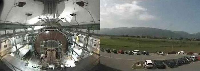 Запуск БАКа (2 видео)