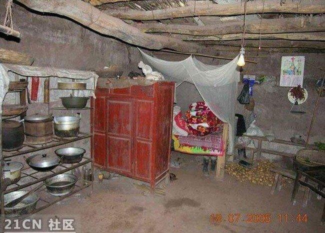Край света. Забытое село в Китае (15 фото)