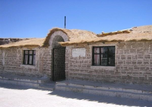 Гостиница из соли в Боливии (9 фото)