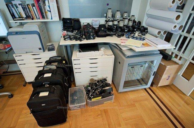 Как профессионалы готовятся к фотосъемке (19 фото)